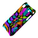 Abstract Sketch Art Squiggly Loops Multicolored Samsung Galaxy S i9000 Hardshell Case  View4