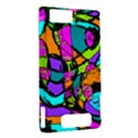 Abstract Sketch Art Squiggly Loops Multicolored Motorola DROID X2 View2