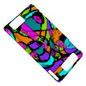Abstract Sketch Art Squiggly Loops Multicolored Motorola DROID X2 View5
