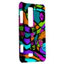 Abstract Sketch Art Squiggly Loops Multicolored LG Optimus Thrill 4G P925 View2