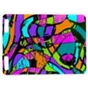 Abstract Sketch Art Squiggly Loops Multicolored Kindle Touch 3G View1