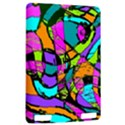Abstract Sketch Art Squiggly Loops Multicolored Kindle Touch 3G View2