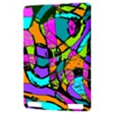 Abstract Sketch Art Squiggly Loops Multicolored Kindle Touch 3G View3