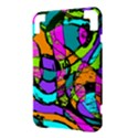 Abstract Sketch Art Squiggly Loops Multicolored Kindle 3 Keyboard 3G View3