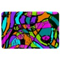 Abstract Sketch Art Squiggly Loops Multicolored Kindle Fire (1st Gen) Hardshell Case View1