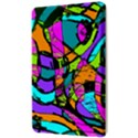 Abstract Sketch Art Squiggly Loops Multicolored Kindle Fire (1st Gen) Hardshell Case View3