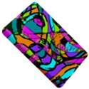 Abstract Sketch Art Squiggly Loops Multicolored Kindle Fire (1st Gen) Hardshell Case View5