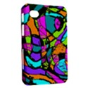 Abstract Sketch Art Squiggly Loops Multicolored Samsung Galaxy Tab 7  P1000 Hardshell Case  View2