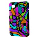 Abstract Sketch Art Squiggly Loops Multicolored Samsung Galaxy Tab 7  P1000 Hardshell Case  View3