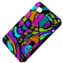 Abstract Sketch Art Squiggly Loops Multicolored Samsung Galaxy Tab 7  P1000 Hardshell Case  View4