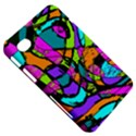 Abstract Sketch Art Squiggly Loops Multicolored Samsung Galaxy Tab 7  P1000 Hardshell Case  View5