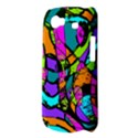Abstract Sketch Art Squiggly Loops Multicolored Samsung Galaxy Nexus S i9020 Hardshell Case View3