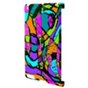 Abstract Sketch Art Squiggly Loops Multicolored Apple iPad 2 Hardshell Case (Compatible with Smart Cover) View3