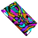 Abstract Sketch Art Squiggly Loops Multicolored Apple iPad 2 Hardshell Case (Compatible with Smart Cover) View5