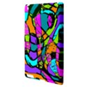 Abstract Sketch Art Squiggly Loops Multicolored Apple iPad 3/4 Hardshell Case View3