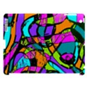 Abstract Sketch Art Squiggly Loops Multicolored Apple iPad 3/4 Hardshell Case (Compatible with Smart Cover) View1