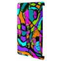 Abstract Sketch Art Squiggly Loops Multicolored Apple iPad 3/4 Hardshell Case (Compatible with Smart Cover) View3