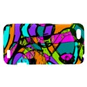 Abstract Sketch Art Squiggly Loops Multicolored HTC One V Hardshell Case View1