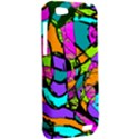 Abstract Sketch Art Squiggly Loops Multicolored HTC One V Hardshell Case View2