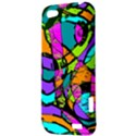 Abstract Sketch Art Squiggly Loops Multicolored HTC One V Hardshell Case View3