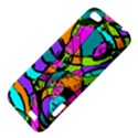 Abstract Sketch Art Squiggly Loops Multicolored HTC One V Hardshell Case View4