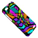 Abstract Sketch Art Squiggly Loops Multicolored HTC One V Hardshell Case View5