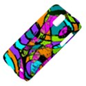 Abstract Sketch Art Squiggly Loops Multicolored Samsung Galaxy S II Skyrocket Hardshell Case View4