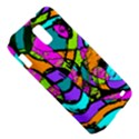 Abstract Sketch Art Squiggly Loops Multicolored Samsung Galaxy S II Skyrocket Hardshell Case View5