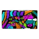 Abstract Sketch Art Squiggly Loops Multicolored Sony Xperia S View1