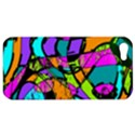 Abstract Sketch Art Squiggly Loops Multicolored Apple iPhone 5 Hardshell Case View1
