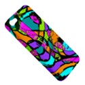 Abstract Sketch Art Squiggly Loops Multicolored Apple iPhone 5 Hardshell Case View5