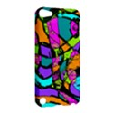 Abstract Sketch Art Squiggly Loops Multicolored Apple iPod Touch 5 Hardshell Case View2