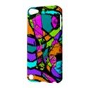 Abstract Sketch Art Squiggly Loops Multicolored Apple iPod Touch 5 Hardshell Case View3