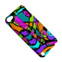 Abstract Sketch Art Squiggly Loops Multicolored Apple iPod Touch 5 Hardshell Case View5