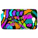 Abstract Sketch Art Squiggly Loops Multicolored Samsung Galaxy Note 2 Hardshell Case View1