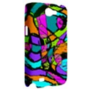 Abstract Sketch Art Squiggly Loops Multicolored Samsung Galaxy Note 2 Hardshell Case View2