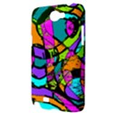 Abstract Sketch Art Squiggly Loops Multicolored Samsung Galaxy Note 2 Hardshell Case View3