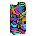 Abstract Sketch Art Squiggly Loops Multicolored Apple iPhone 5 Hardshell Case (PC+Silicone) View2