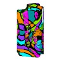 Abstract Sketch Art Squiggly Loops Multicolored Apple iPhone 5 Hardshell Case (PC+Silicone) View3