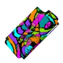 Abstract Sketch Art Squiggly Loops Multicolored Apple iPhone 5 Hardshell Case (PC+Silicone) View4
