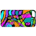 Abstract Sketch Art Squiggly Loops Multicolored Apple iPhone 5 Classic Hardshell Case View1