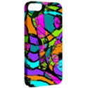 Abstract Sketch Art Squiggly Loops Multicolored Apple iPhone 5 Classic Hardshell Case View2