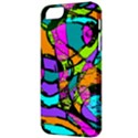 Abstract Sketch Art Squiggly Loops Multicolored Apple iPhone 5 Classic Hardshell Case View3