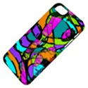 Abstract Sketch Art Squiggly Loops Multicolored Apple iPhone 5 Classic Hardshell Case View4