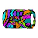 Abstract Sketch Art Squiggly Loops Multicolored Samsung Galaxy S III Hardshell Case (PC+Silicone) View1