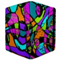 Abstract Sketch Art Squiggly Loops Multicolored Kindle Fire (1st Gen) Flip Case View4