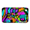 Abstract Sketch Art Squiggly Loops Multicolored Apple iPhone 3G/3GS Hardshell Case (PC+Silicone) View1