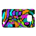Abstract Sketch Art Squiggly Loops Multicolored Samsung Galaxy S II i9100 Hardshell Case (PC+Silicone) View1