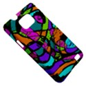 Abstract Sketch Art Squiggly Loops Multicolored Samsung Galaxy S II i9100 Hardshell Case (PC+Silicone) View5