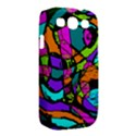 Abstract Sketch Art Squiggly Loops Multicolored Samsung Galaxy S III Classic Hardshell Case (PC+Silicone) View2